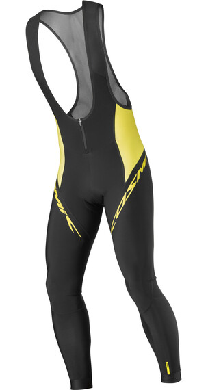 Mavic Cosmic Elite Thermo Bib Tight Men black/yellow